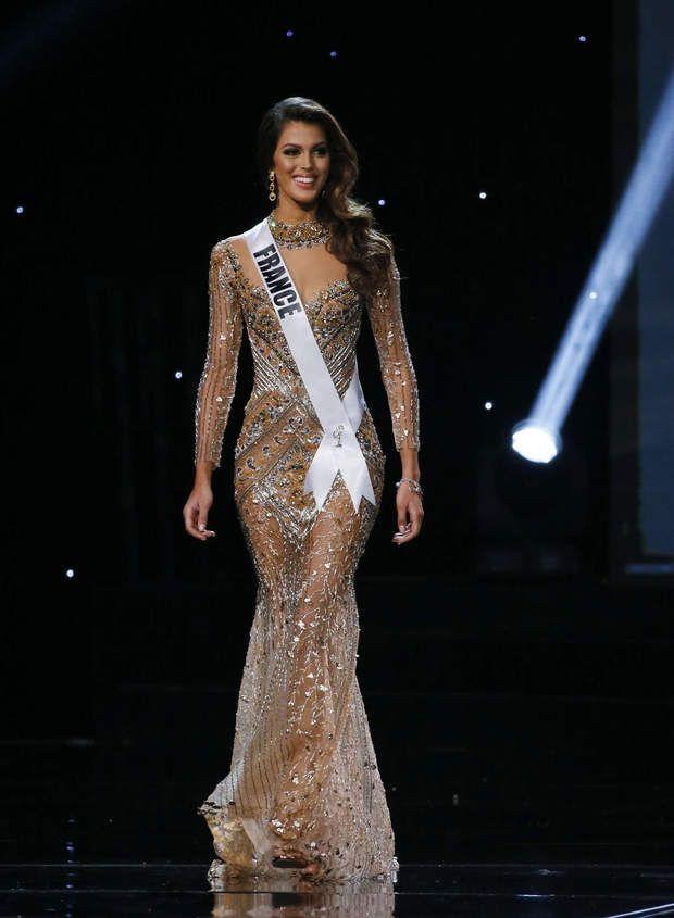 Iris Mittenaere élue Miss Univers : la Lilloise de 24 ans était sculpturale dans sa robe lamé or