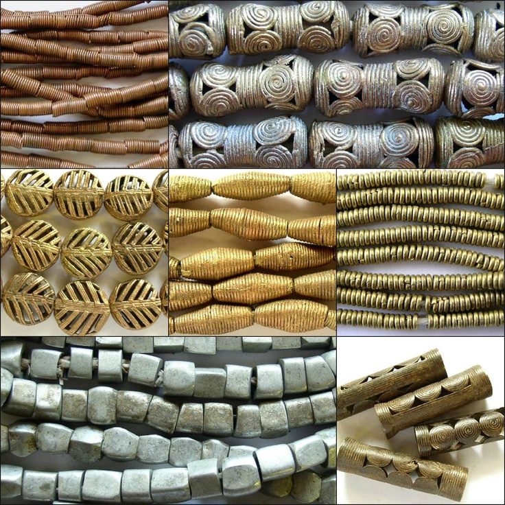 African Metal Beads with free shipping available!  Shop here: http://www.happymangobeads.com/african_metal_beads.aspx
