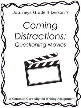 Coming Distractions: Questioning Movies-Writing Prompt