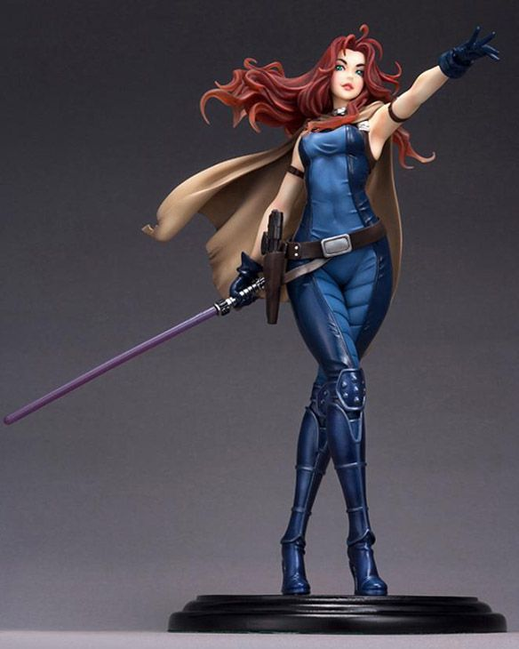 Star Wars Mara Jade Skywalker Statue