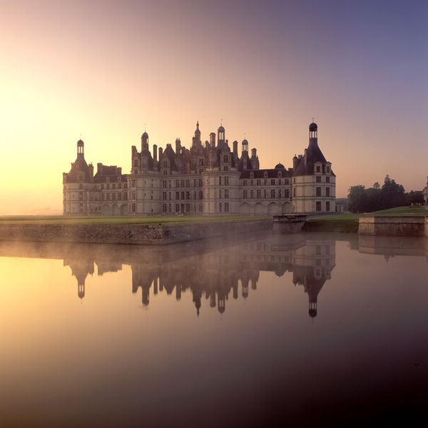 Chateau de Chambord, Loire, France.  So beautiful.  We really saw some great places on this high school trip.  Need to go back for some serious wine tasting.