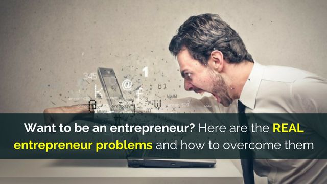 If you want to be an #entrepreneur, this information may help: http://brandonline.michaelkidzinski.ws/want-to-be-an-entrepreneur-here-are-the-real-entrepreneur-problems-and-how-to-overcome-them/