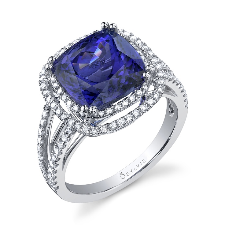 women womens rings elegant birthstone gold december style diamond for wedding topaz and blue arena ring