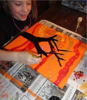 mrspicasso's art room: Girls' Night- Makin' Art!