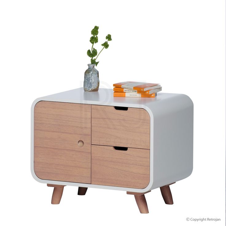 Bedside Table | Buy Leo Scandinavian Bedside Table – Retrojan