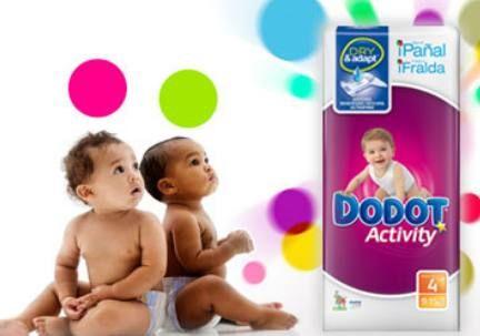 Pañales Dodot: para una piel seca y cuidada