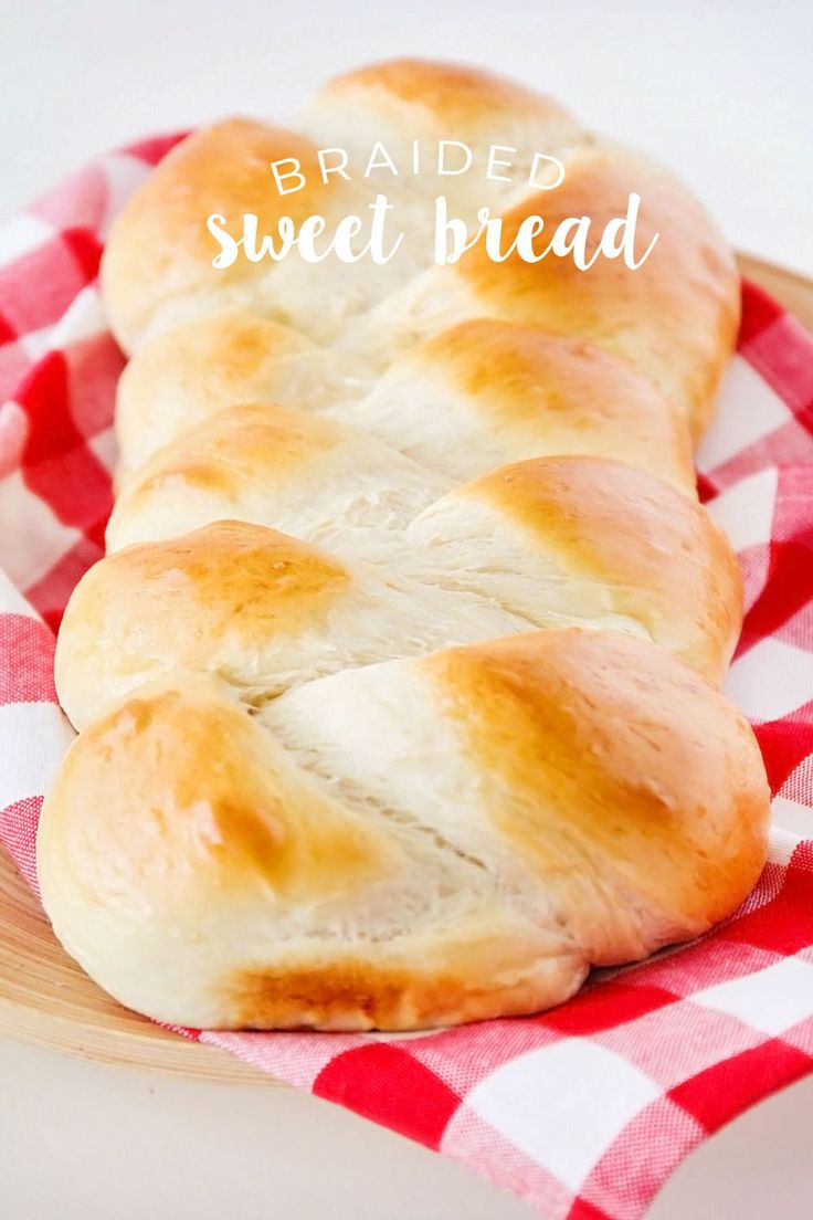 This soft and sweet braided bread is simple and easy to make, and so delicious!