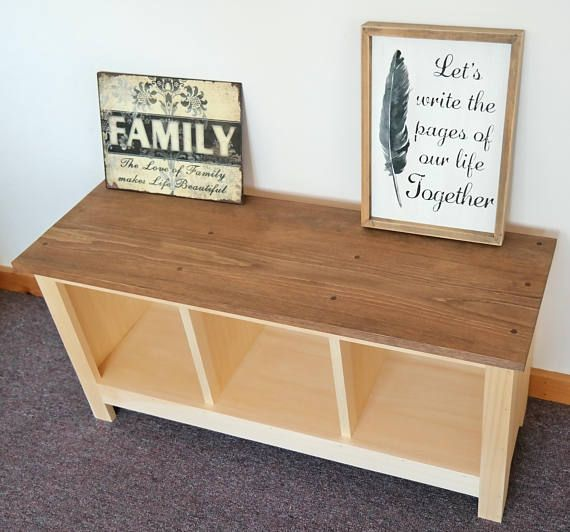 twotone bench custom furniture shoe cubby cubby storage bench