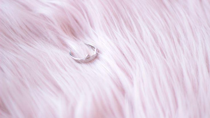 Minimalist Cat Ring by MeowGeek on Etsy