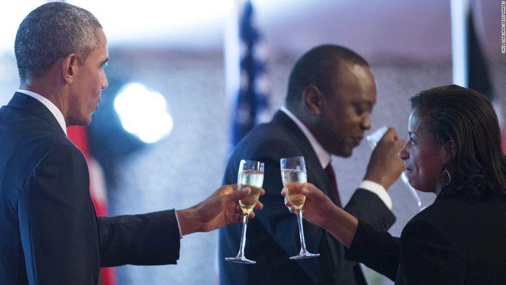 president obama kenya   President Barack Obama and National Security Adviser Susan Rice ...