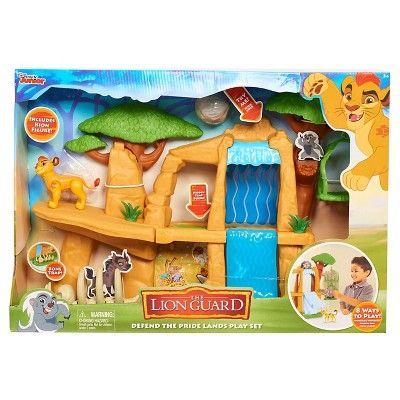 Lion Guard Battle For The Pride Lands Playset