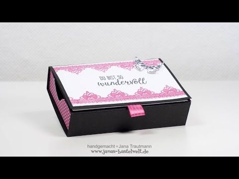 Tutorial: Aufklappbare Matchbox mit dem Envelope Punch Board - YouTube