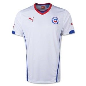 2014-15 Chile Away World Cup Football Shirt available @ http://www.world-cup-products-worldwide.com/2014-chile-away-world-cup-football-shirt/