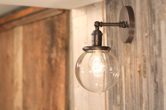 Outdoor lighting Etsy listing at https://www.etsy.com/listing/162861154/sconce-lighting-with-6-clear-glass-shade
