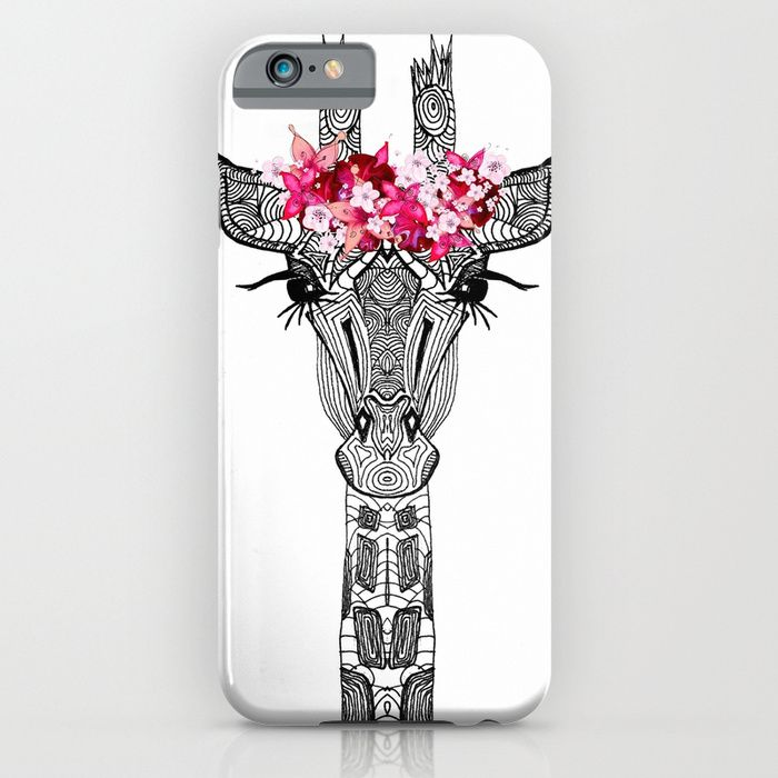 FLOWER GIRL iPhone & iPod Case by Monika Strigel $35