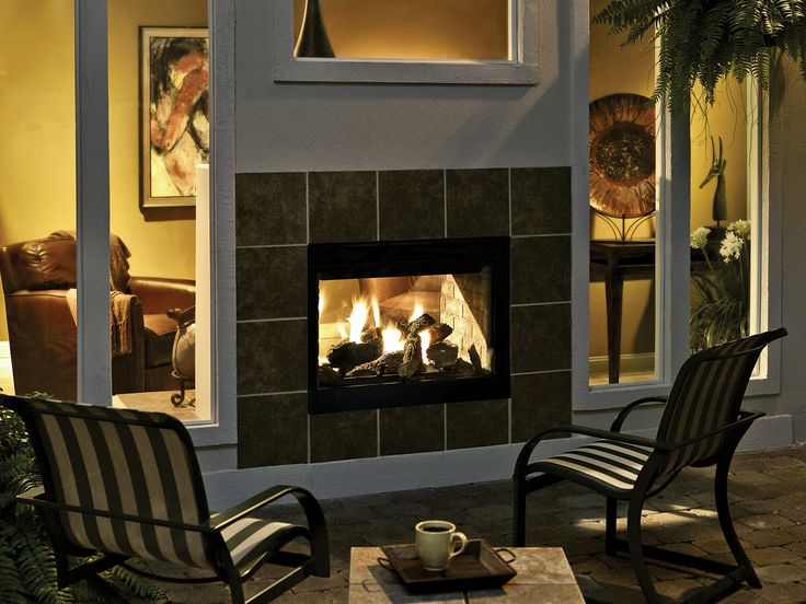 41 best Outdoor Fireplaces images on Pinterest | Gas fireplaces ...