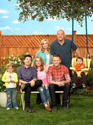 Good Luck Charlie!  My kids watch this show a lot and because it's on my television all the time, I too have become a viewer. Cute TV show for families.