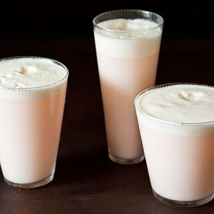 Rhubarb and Rose Ramos Gin Fizz Recipe on Food52 recipe on Food52