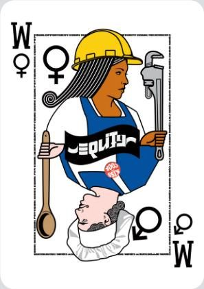 Title: Gender equity; Artist: Wright, Erin