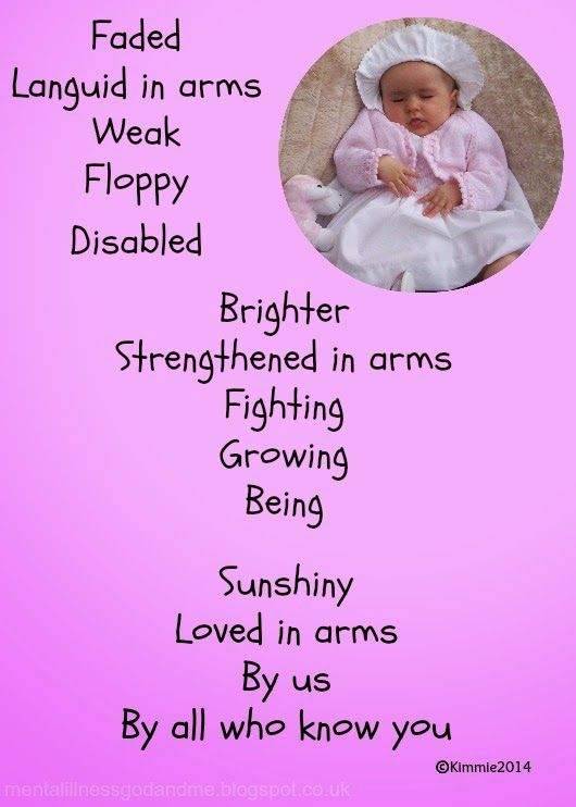 via @stuckinscared - 'Loving Littlie' | #poem #poetry #specialneeds #disability