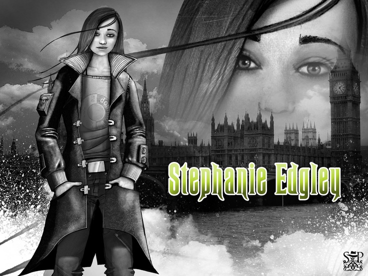 Valkyrie Cain, a.k.a. Stephanie Edgley (Skullduggery Pleasant)