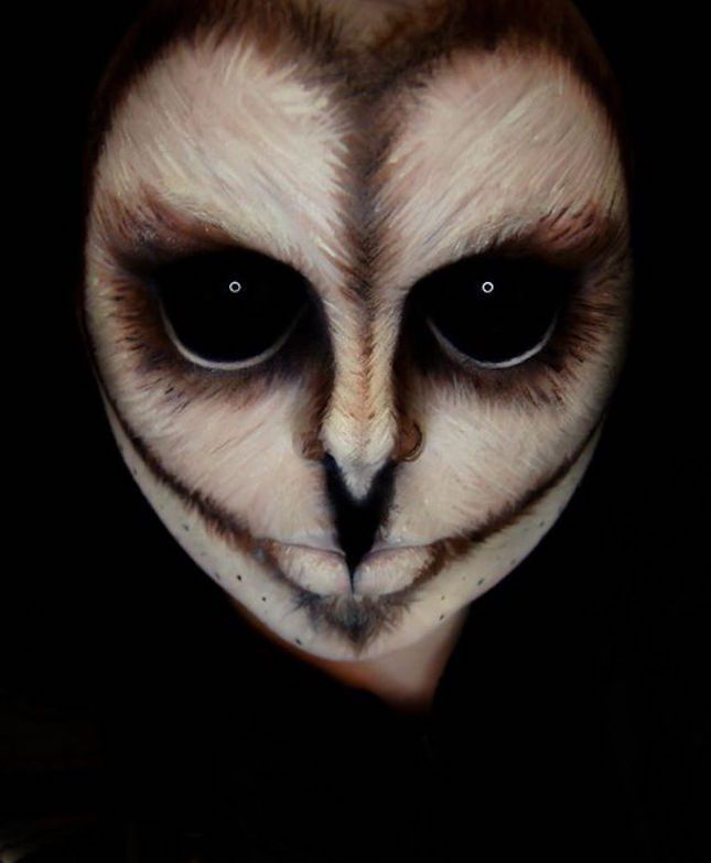 47 times halloween face paint basically blew our minds - Easy Scary Halloween Face Painting Ideas