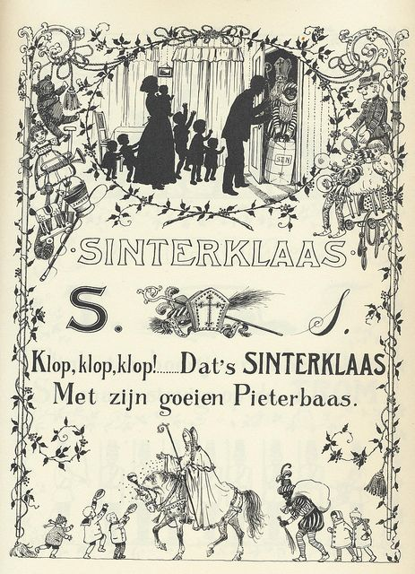 Jan Wiegman S Sinterklaas 1910 | Flickr - Photo Sharing!