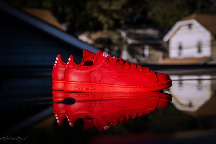 Pharrell Williams x adidas Consortium Stan Smith Red