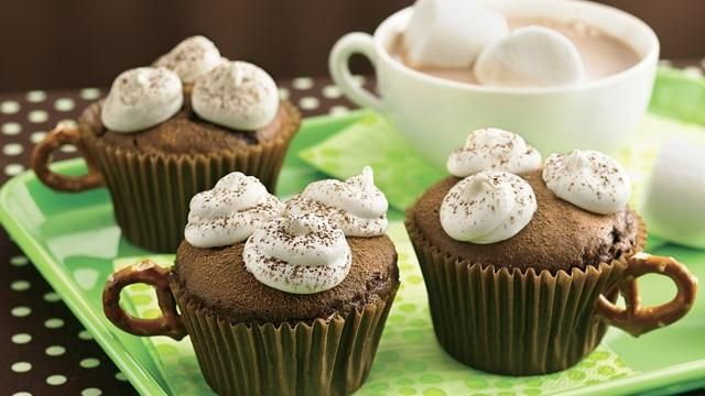 Hot Coco Cupcakes