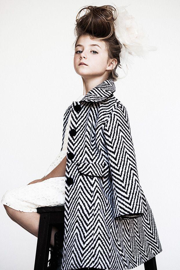 black & white .