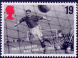 Football Legends 19p Stamp (1996) Dixie Dean