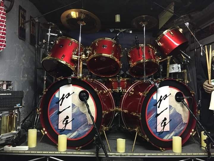 grace under pressure drum kit drums