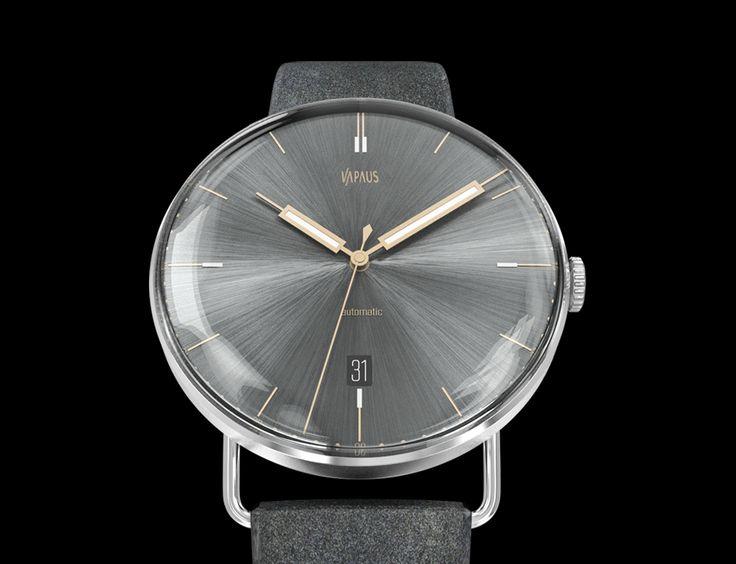 VAPAUS watch in Slate Grey