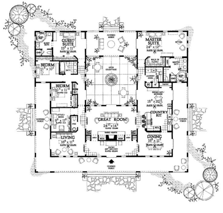 54 best My dream Spanish style hacienda images on Pinterest ...