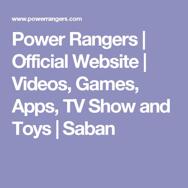Power Rangers | Official Website | Videos, Games, Apps, TV Show and Toys | Saban