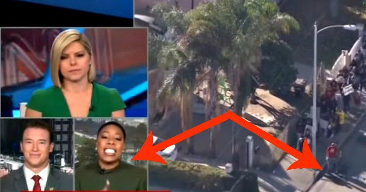 CNN Tries To Hide What Commentator Did While Watching Mob Attack White Man