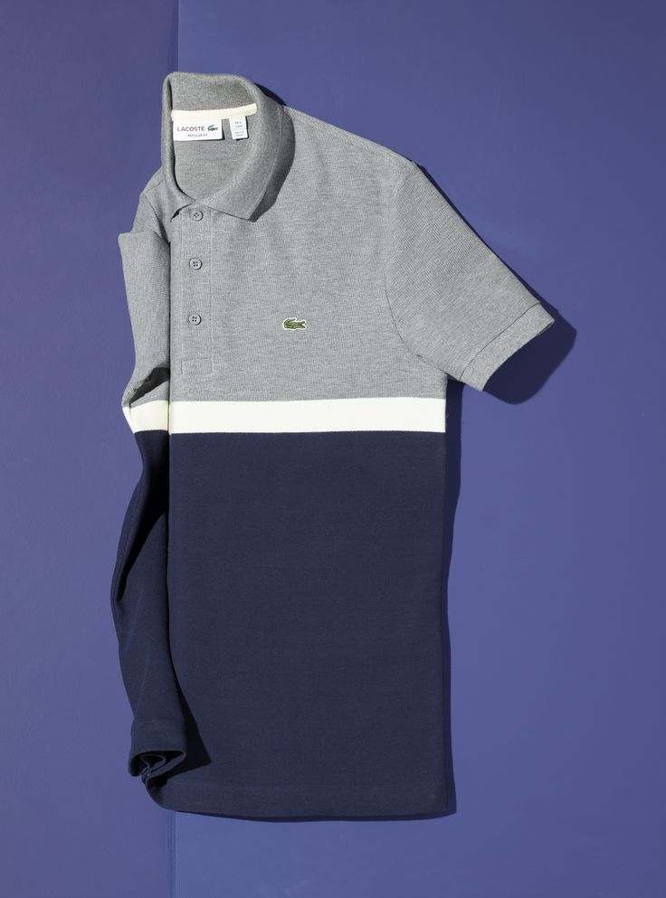 Colorblock panels add a unique look to this classic polo. Perfect for the office or after hours with chinos or slim trousers.