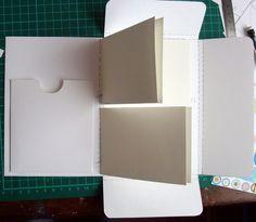 Mini album scrap et son tuto - Le blog de carine_55
