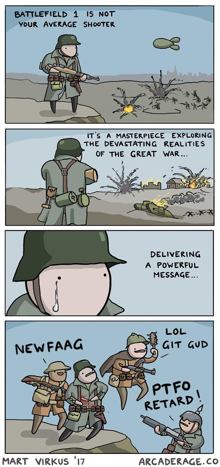 Battlefield 1 is such a realistic shooter... http://ift.tt/2j4HnsT