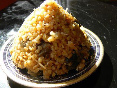 Patlıcanlı Bulgur Pilavı... | Vişnap