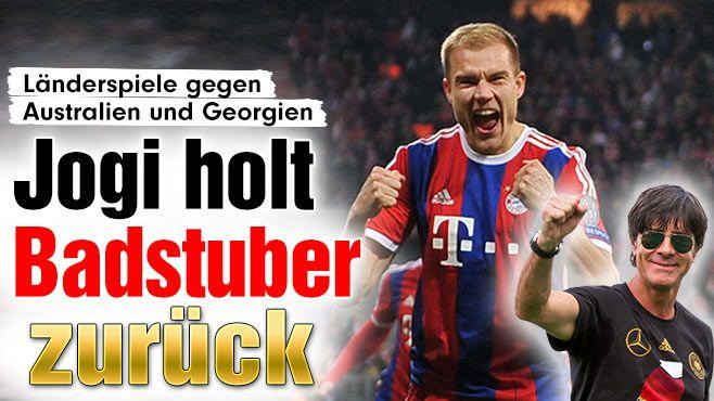astro #snake Bayern-Star Holger Badstuber ist zurück! | Löw benennt Kader für Australien und Georgien http://www.bild.de/sport/fussball/holger-badstuber/zurueck-in-der-nationalmannschaft-40237420.bild.html