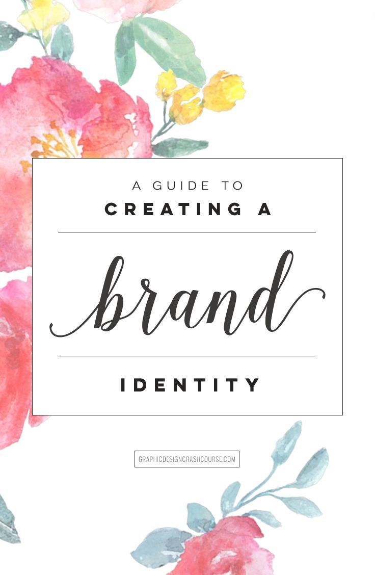 A guide to creating a brand identity: http://graphicdesigncrashcourse.com/how-to-design-a-brand-identity/  #brand #design #graphicdesign #logo