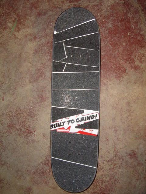 Simple griptape job Skateboard grip Skateboard design