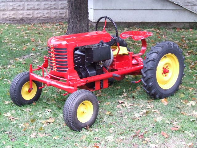 Small garden tractors vintage or antique