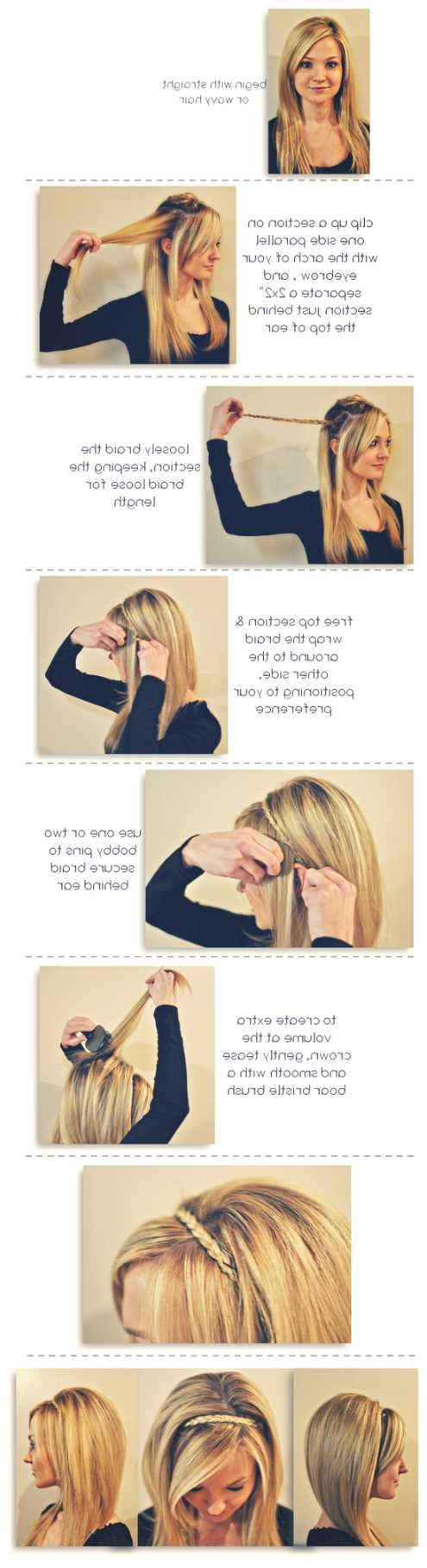 how to cut hair in steps