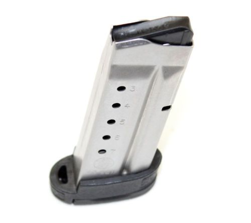 Used Smith & Wesson M&P Shield 40 S&W 7 Round Single Stack Magazine Mag