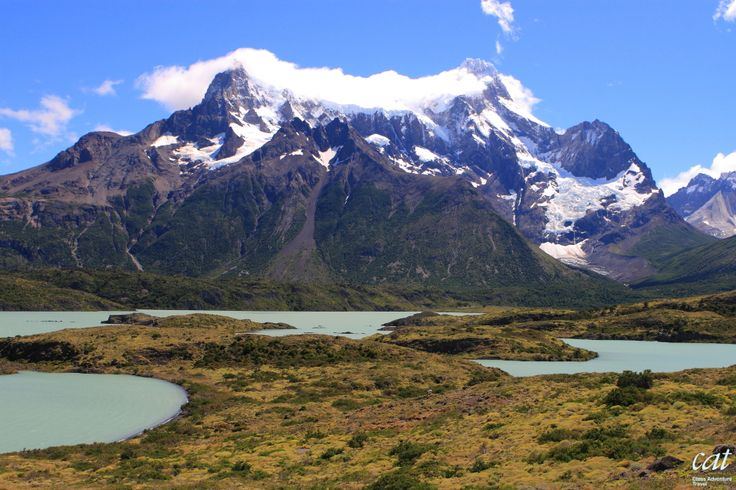 Explore the Torres del Paine National Park with its soaring mountains, electric-blue glaciers & verdant pampas that are home to rare wildlife such as llama-like guanacos. #travel #Chile #Patagonia @chiletravel  @bbctravel @natgeotravel