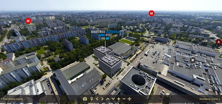 Panorama 360 Domaniewska Office HUB