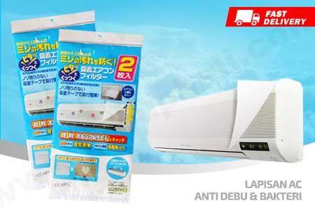 Lapisan AC Anti Debu & Bakterial menjaga AC tetap bersih hanya Rp 19.500 https://www.groupbeli.com/view.php?id=884