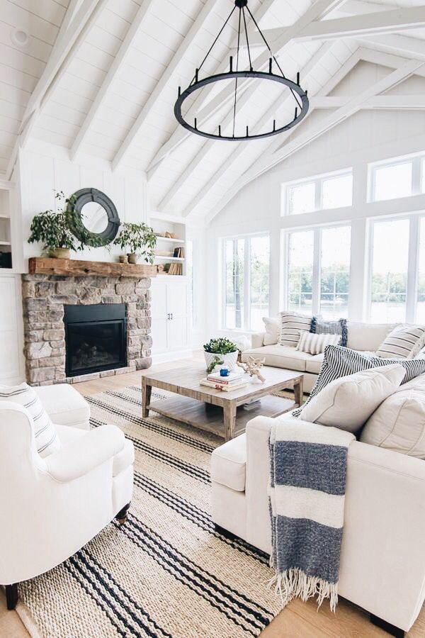 Dream White Living Room White Living Room Decor Modern
